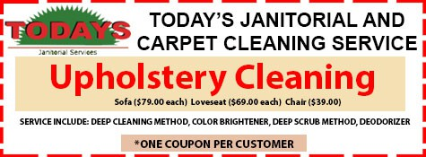 Upholstry Cleaning Coupon